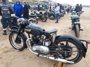 1953 Triumph rigid thunderbird