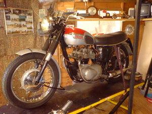 1967 Triumph T100T