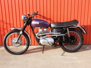 TRIUMPH TIGER 100C 490cc 1969 MATCHING ENGINE & FRAME NUMBER