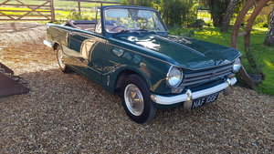 1967 triumph 1360 convertible 2 owner  genuine low miles superb  For Sale