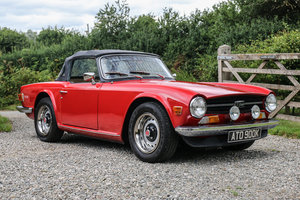 1972 Triumph TR6 CP (150 BHP) with O/D £16,000 - £18,000 For Sale by Auction
