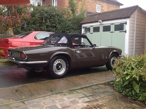 1972 Superb looking Spitfire mk4 .rare colour . SOLD