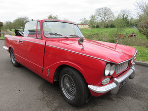 1970 Triumph Herald Convertible - Project Car - on The Market SOLD by Auction