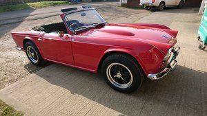 1963 Special Little TR4