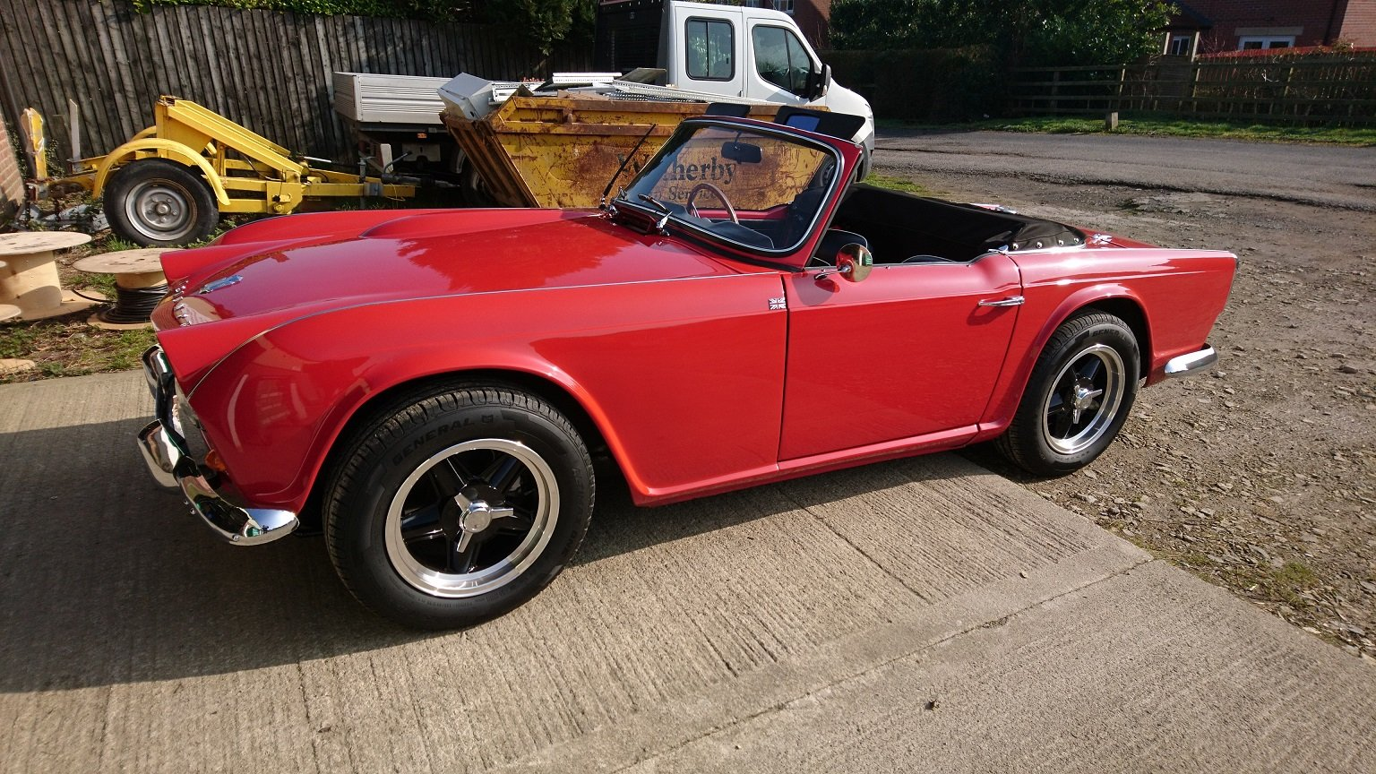1963 Special Little TR4 SOLD (picture 2 of 6)