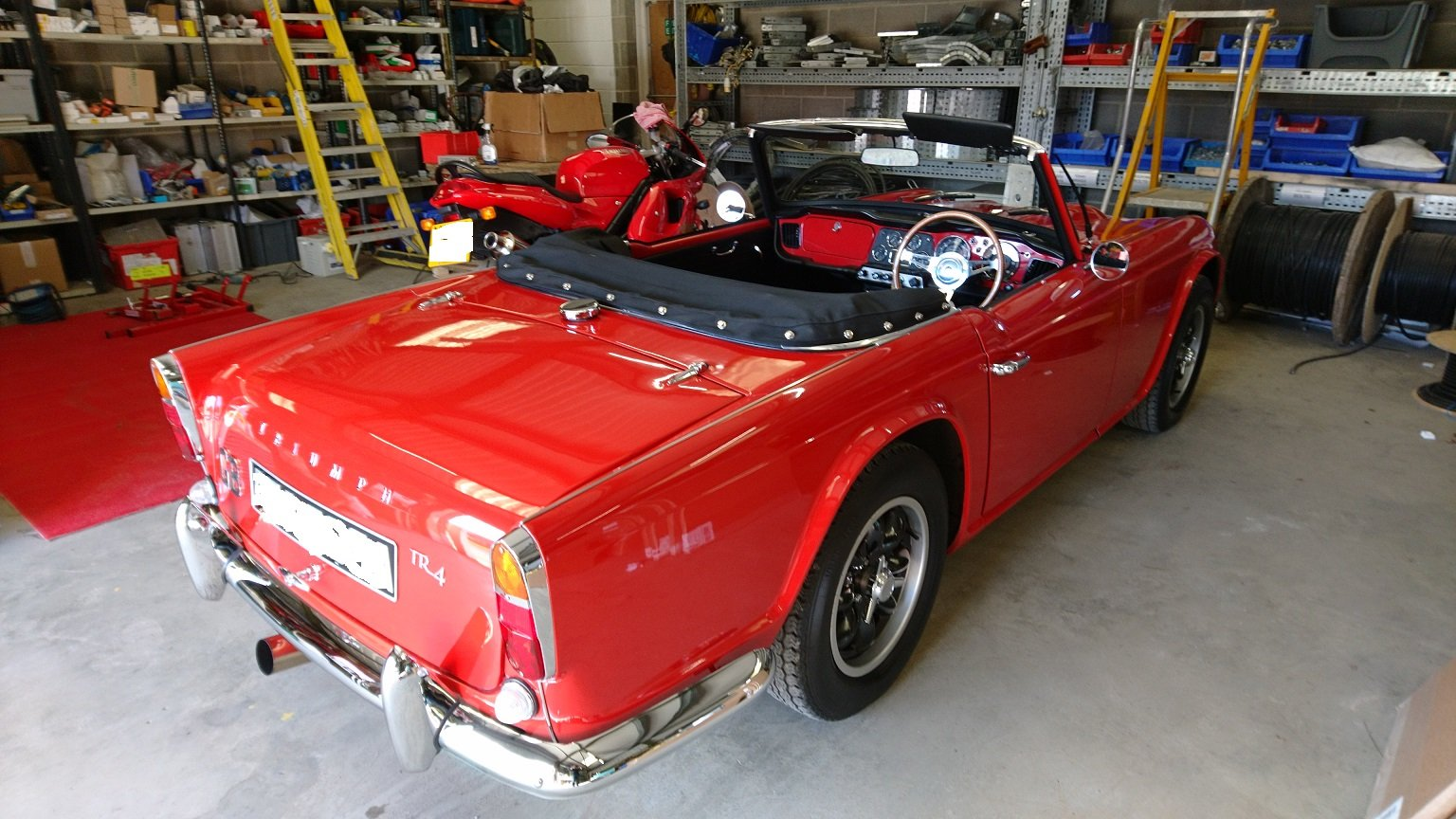 1963 Special Little TR4 SOLD (picture 5 of 6)
