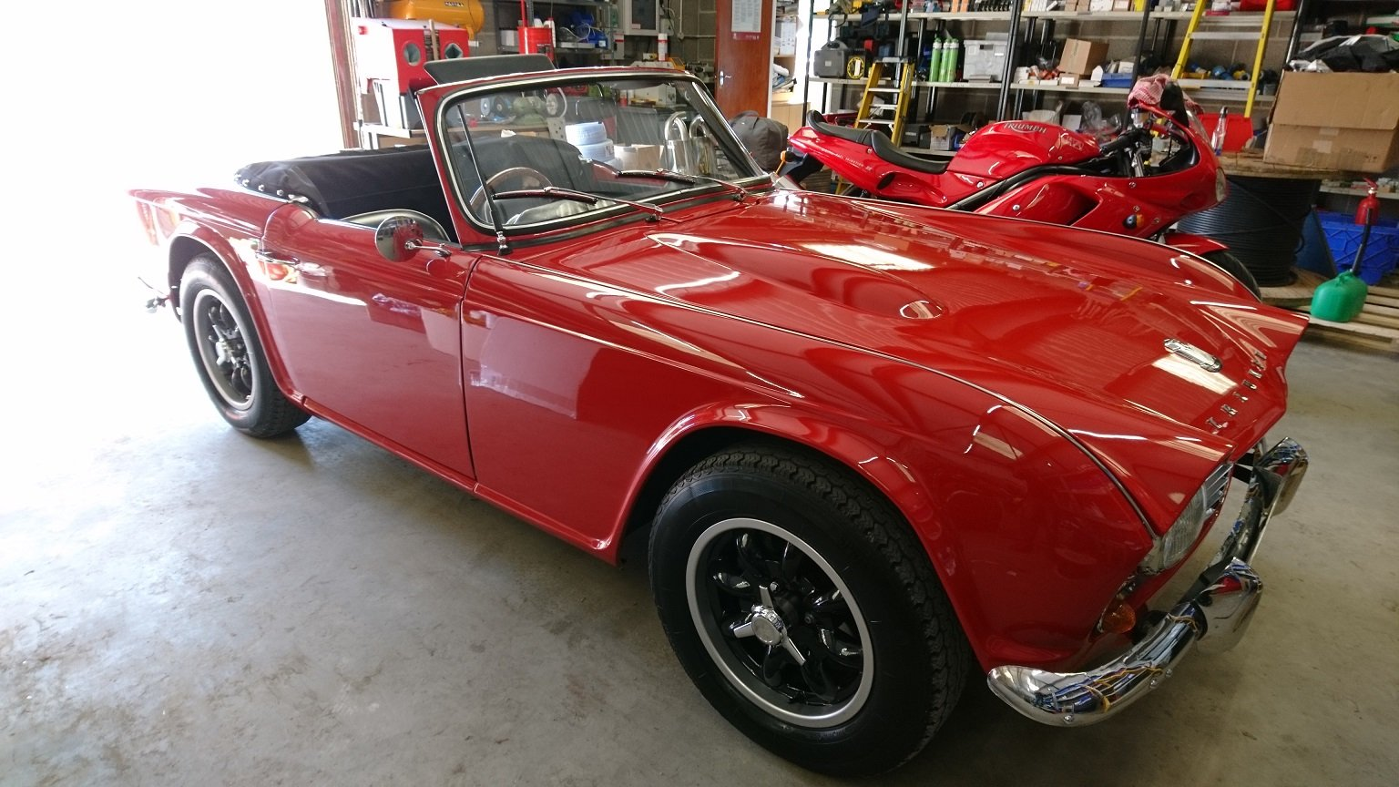 1963 Special Little TR4 SOLD (picture 6 of 6)