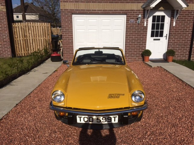 Triumph Spitfire 1500 (1979) For Sale (picture 1 of 6)