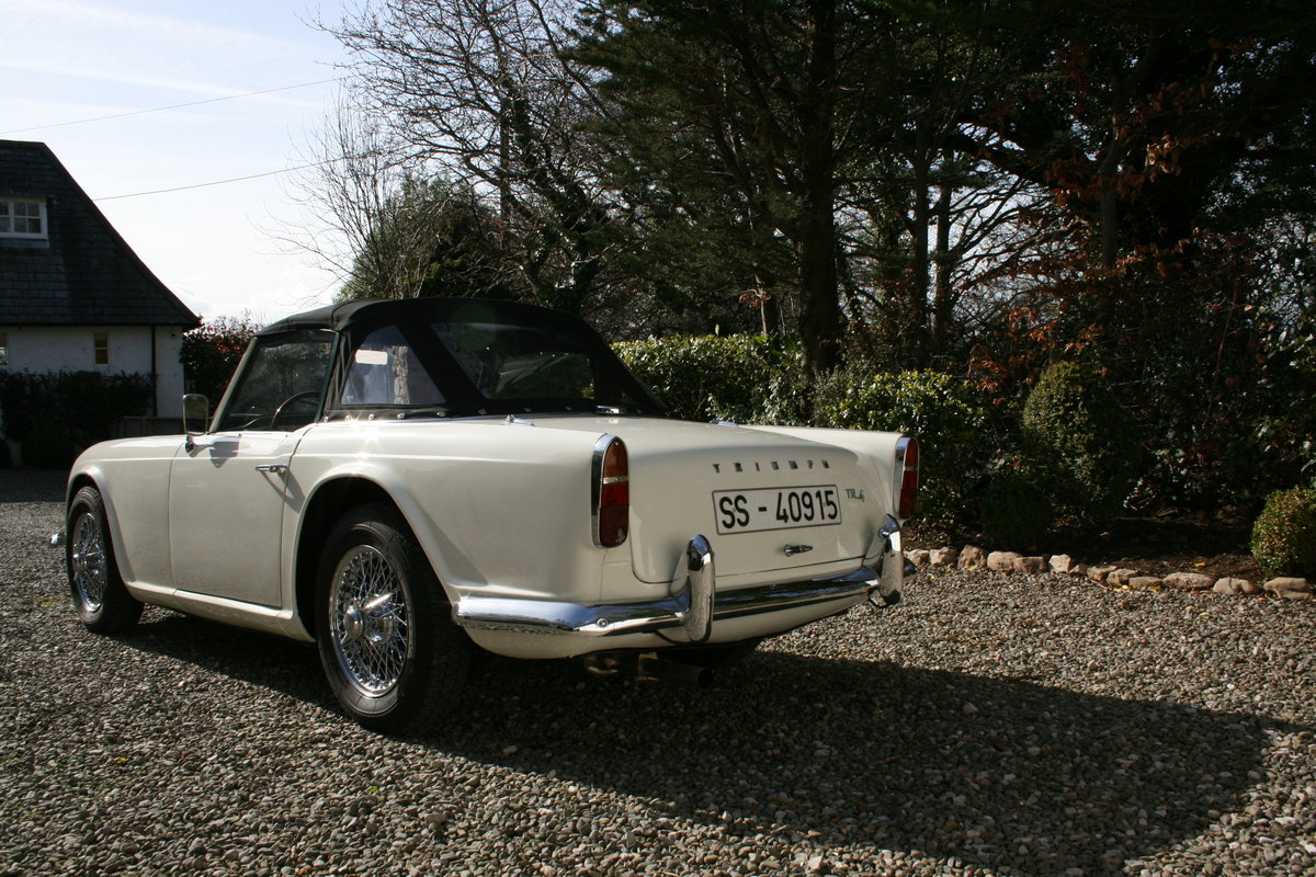 1963 Triumph TR4 LHD in Original Condition For Sale (picture 4 of 6)