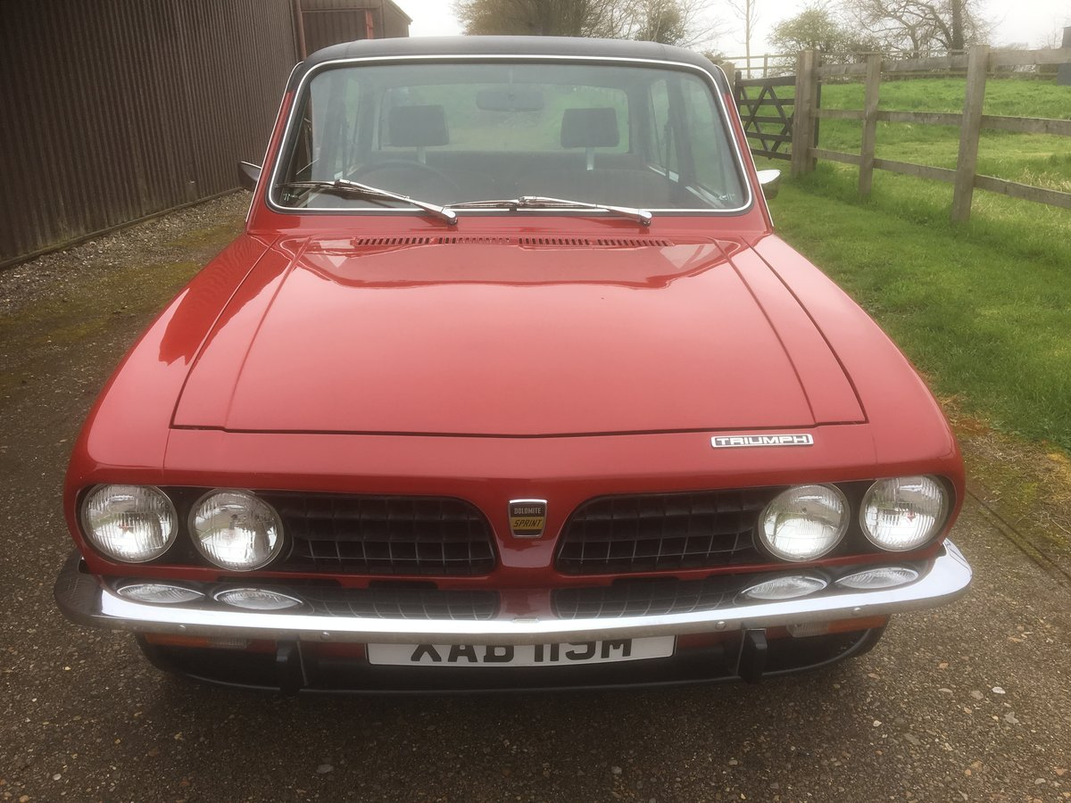 1974 Dolomite Sprint. For Sale (picture 3 of 6)