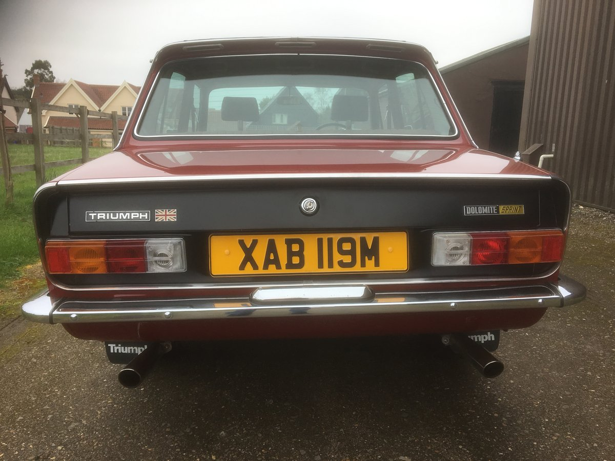 1974 Dolomite Sprint. For Sale (picture 4 of 6)