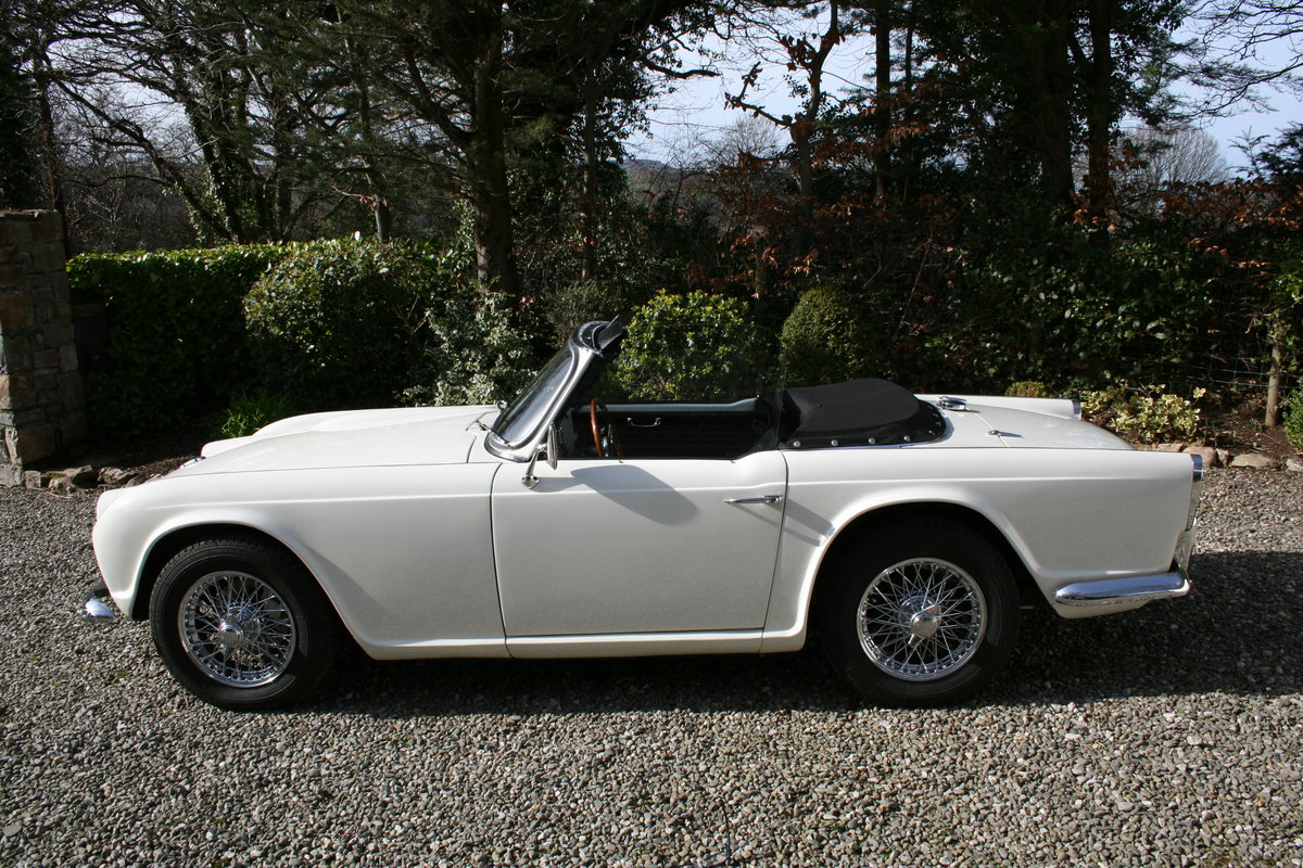 1963 Triumph TR4 LHD in Original Condition For Sale (picture 1 of 6)