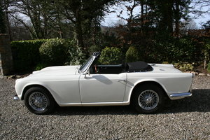 1963 Triumph TR4 LHD in Original Condition For Sale