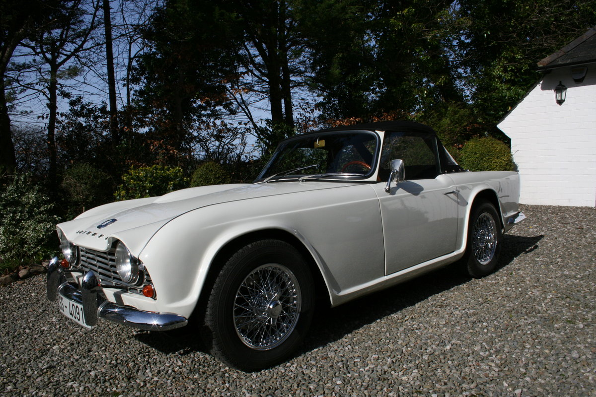 1963 Triumph TR4 LHD in Original Condition For Sale (picture 3 of 6)