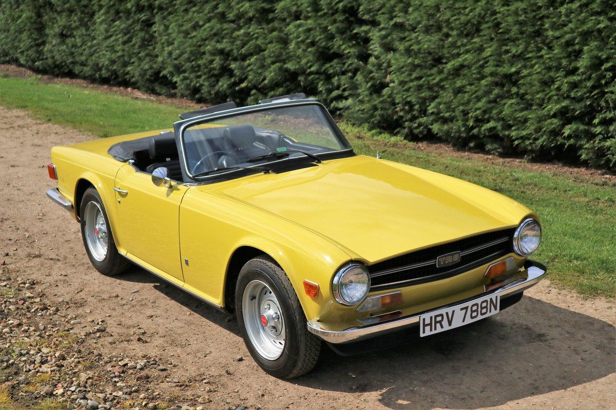 1975 Triumph TR6 For Sale (picture 1 of 6)
