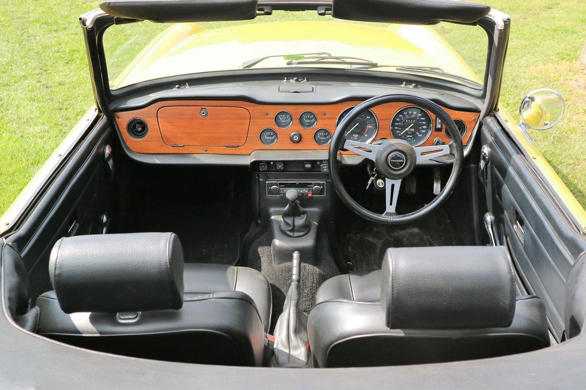 1975 Triumph TR6 For Sale (picture 5 of 6)