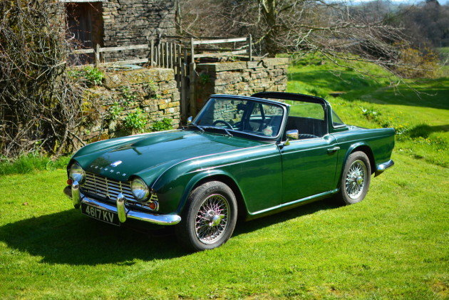 1964 Triumph TR4 For Sale by Auction (picture 1 of 1)