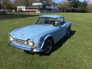 1967 Triumph TR4A with Surrey Top  For Sale by Auction