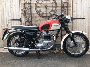 1966 Triumph T120 Bonneville