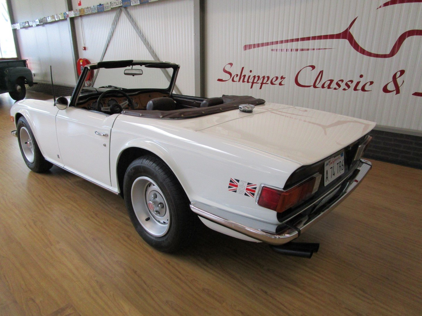 Triumph TR6 with Overdrive For Sale (picture 3 of 6)