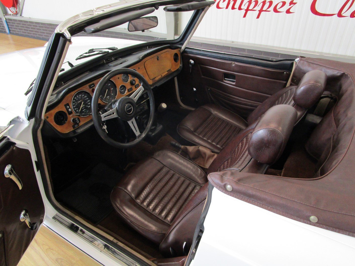 Triumph TR6 with Overdrive For Sale (picture 5 of 6)