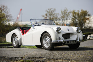 1954 Triumph TR2 'Long Door'