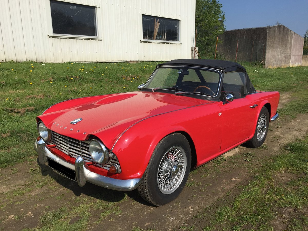 Triumph Tr4 1964 For Sale Car And Classic