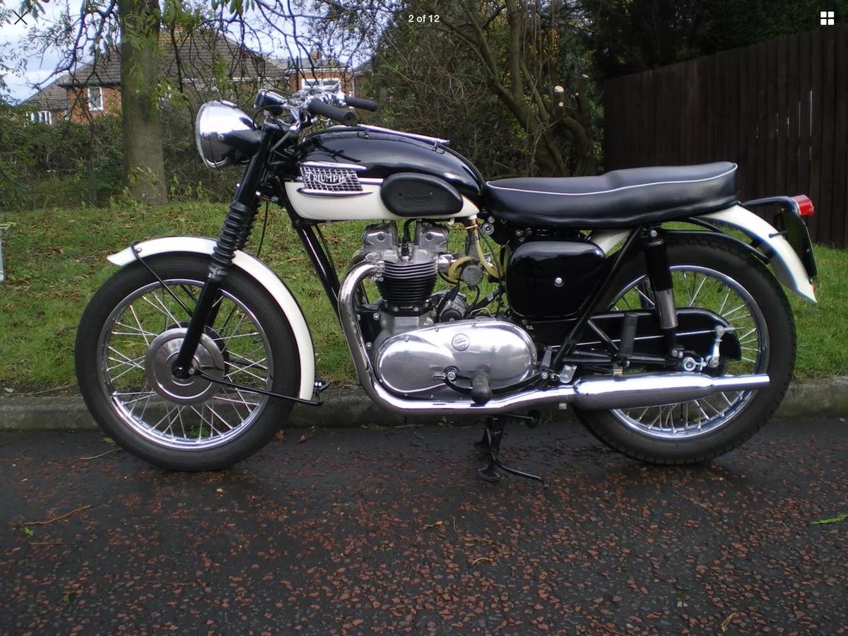 1960 Triumph T110, Bonneville - beautiful bike For Sale (picture 2 of 2)