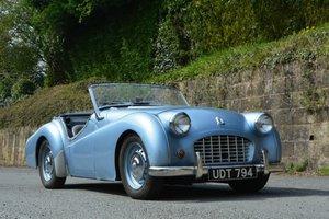 1956 Triumph TR3 For Sale by Auction