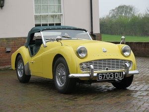 1960 Triumph TR3A For Sale by Auction