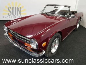 Triumph TR6 1974, Carmine Red For Sale