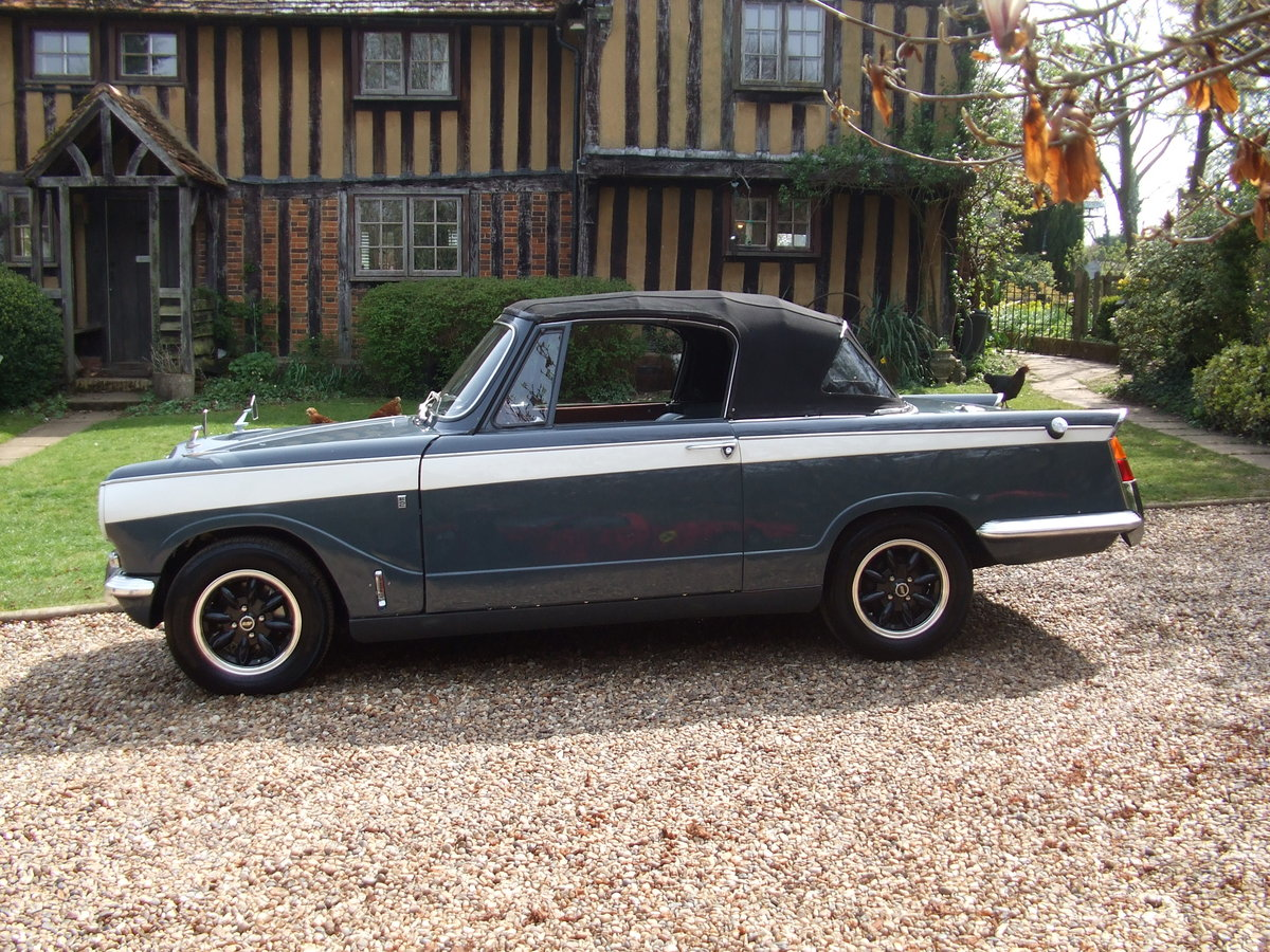 1970 VITESSE FACTORY CONVERTIBLE MK2 2L OVERDRIVE NOW SOLD SOLD (picture 1 of 6)