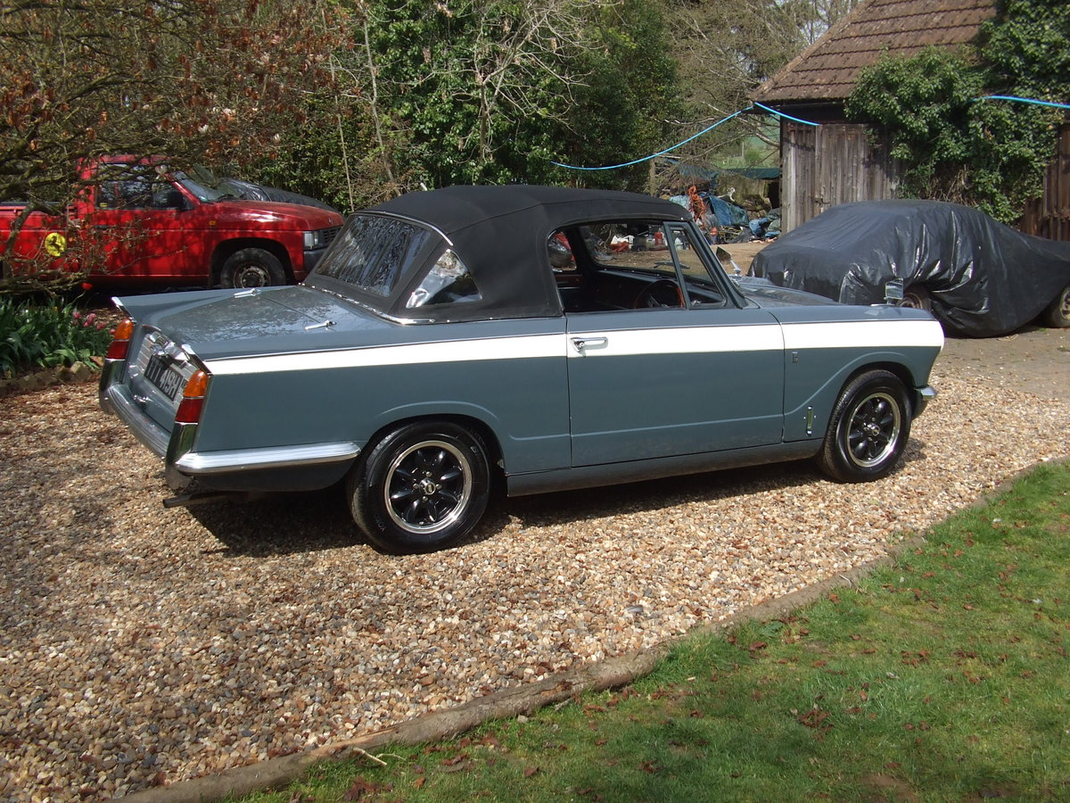 1970 VITESSE FACTORY CONVERTIBLE MK2 2L OVERDRIVE NOW SOLD SOLD (picture 2 of 6)