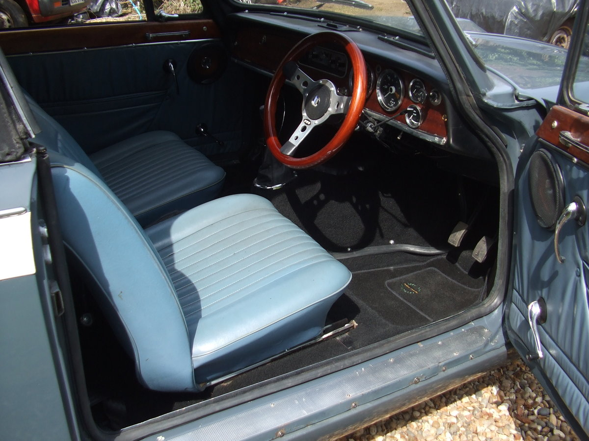 1970 VITESSE FACTORY CONVERTIBLE MK2 2L OVERDRIVE NOW SOLD SOLD (picture 5 of 6)