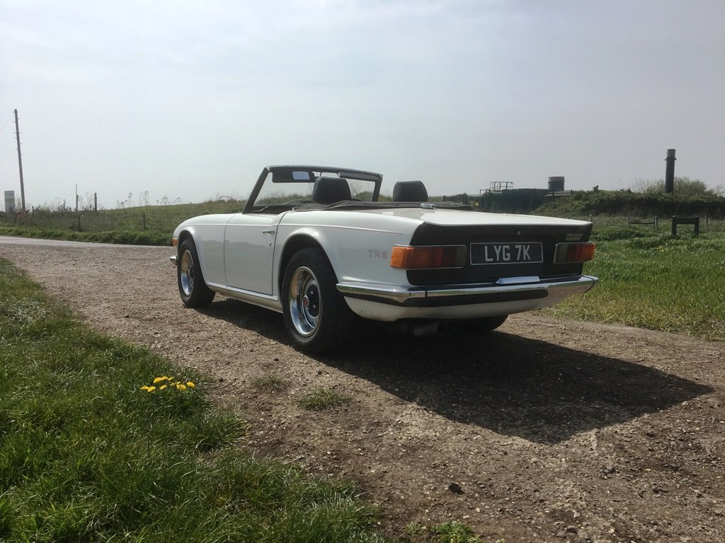 TR6 1971 GENUINE 150 BHP UK CAR WITH OVERDRIVE SOLD (picture 5 of 6)