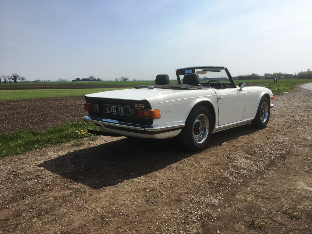 TR6 1971 GENUINE 150 BHP UK CAR WITH OVERDRIVE SOLD (picture 6 of 6)
