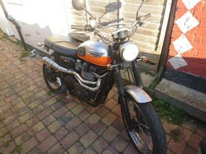 2008 Triumph Bonneville Scrambler For Sale