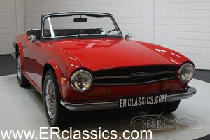 Triumph TR6 Cabriolet 1973 Chrome wire wheels For Sale