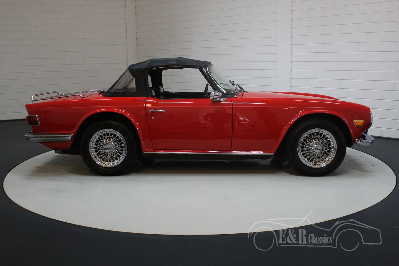 Triumph TR6 Cabriolet 1973 Chrome wire wheels For Sale (picture 6 of 6)