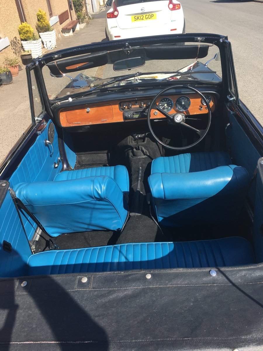 1971 Herald Convertable For Sale (picture 4 of 6)