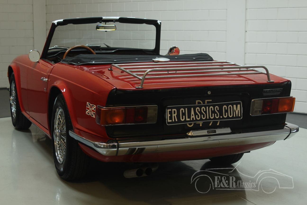Triumph Tr6 Cabriolet 1969 In Top Condition For Sale Car And Classic