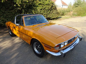 1976 A stunning Stag 3.0 V8 finished in rare 'Topaz' For Sale