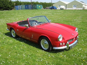 1966 TRIUMPH SPITFIRE MK2. OLDER RESTORATION. LOOKS AND DRIVES FA SOLD