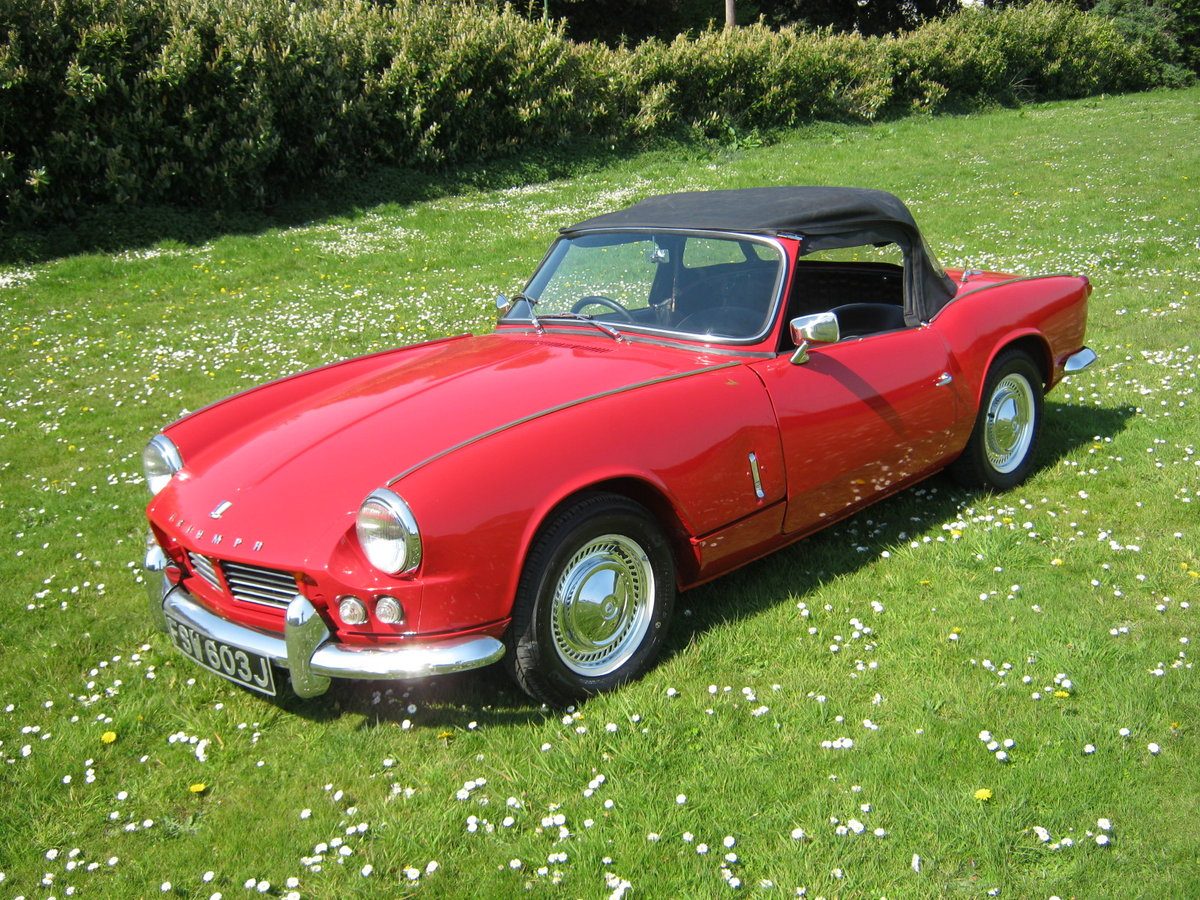 1966 TRIUMPH SPITFIRE MK2. OLDER RESTORATION. LOOKS AND DRIVES FA SOLD (picture 2 of 6)