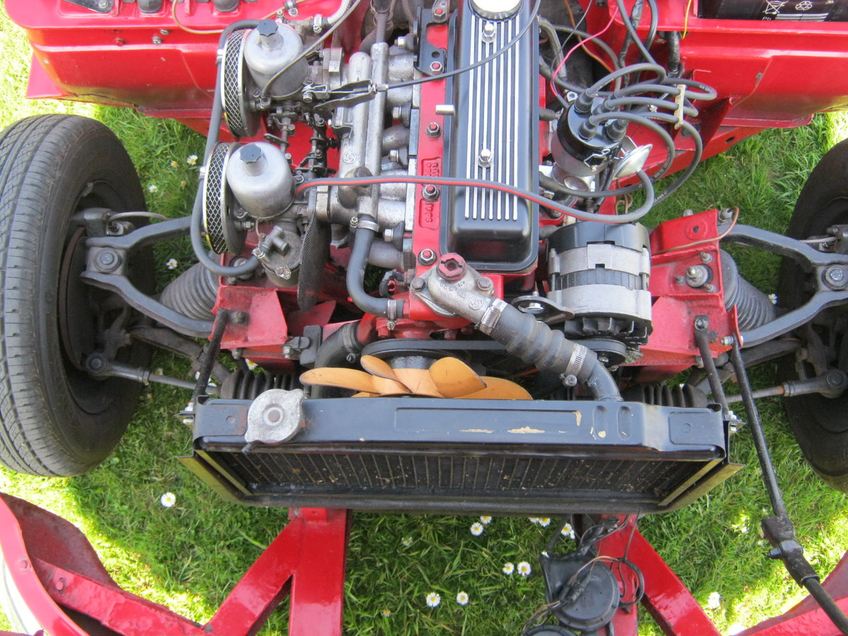 1966 TRIUMPH SPITFIRE MK2. OLDER RESTORATION. LOOKS AND DRIVES FA SOLD (picture 6 of 6)