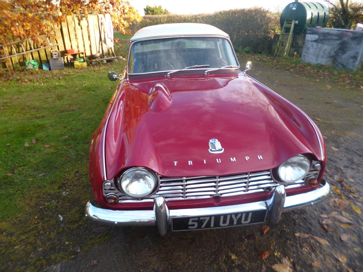 1963 triumph tr4 For Sale (picture 2 of 6)