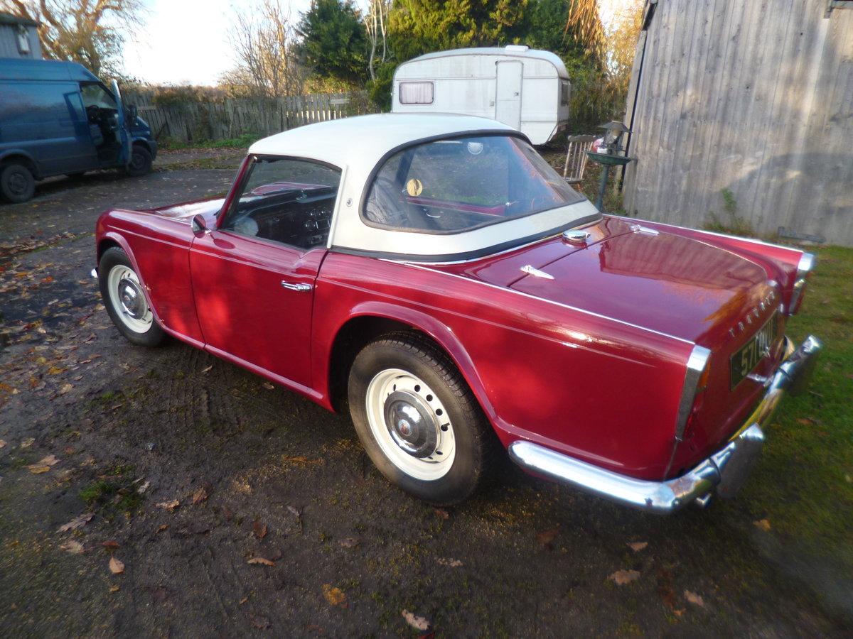 1963 triumph tr4 For Sale (picture 3 of 6)