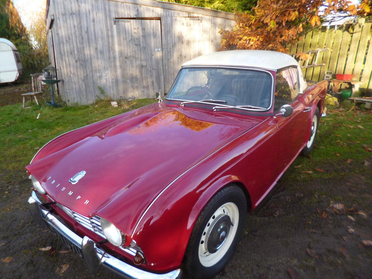 1963 triumph tr4 For Sale (picture 4 of 6)