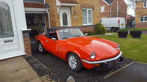 Triumph spitfire 1971 1296cc For Sale
