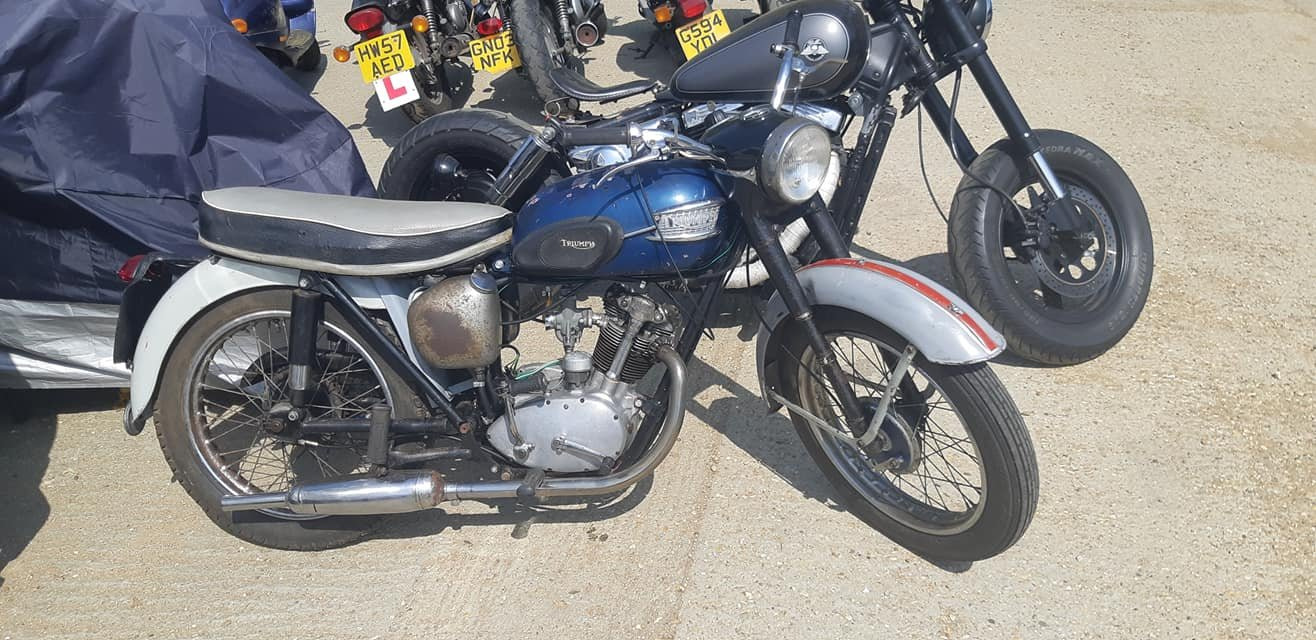 1962 Triumph Tiger Cub 200cc For Sale (picture 1 of 5)